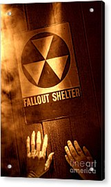 Nuclear Disaster Acrylic Print by Olivier Le Queinec