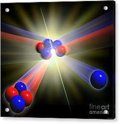 Nuclear Fusion Acrylic Print by Spl