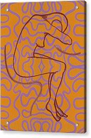 Nude 13 Acrylic Print by Patrick J Murphy