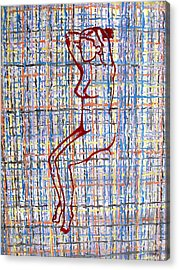 Nude 15 Acrylic Print by Patrick J Murphy