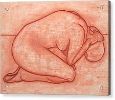 Nude 19 Acrylic Print by Patrick J Murphy