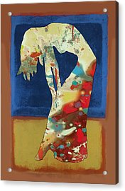 Nude Dancing Pop Stylised Art Poster Acrylic Print