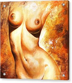 Nude Details Acrylic Print