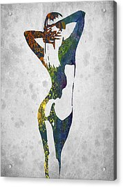 Nude In Color 02 Acrylic Print