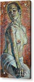 Nude Lisbeth Acrylic Print