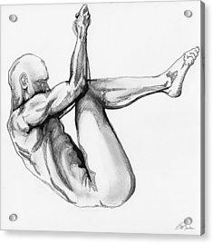 Nude Male 1 Acrylic Print