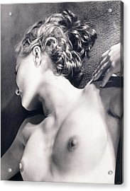 Nude Acrylic Print by Sasha Stone