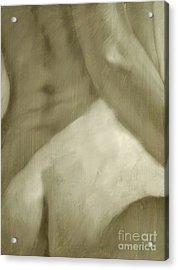Nude Study I Acrylic Print by John Silver