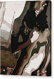 Nude4 Acrylic Print