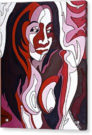 Nude5 Acrylic Print