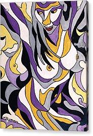 Nude6 Acrylic Print