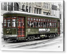 Acrylic Print featuring the photograph Number 965 Trolley by Tammy Wetzel