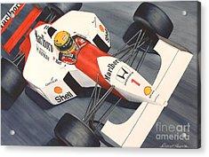 Number One Acrylic Print by Robert Hooper
