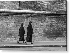 Nuns Acrylic Print