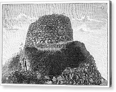 Nuraghe Losa Acrylic Print by Science Photo Library