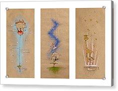 Nursery Collection 6 Acrylic Print by David Breeding