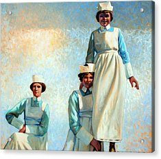 Nurse's Holiday Acrylic Print by Kevin Lawrence Leveque