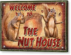 Nut House 2 Acrylic Print by JQ Licensing