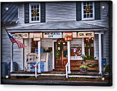 Acrylic Print featuring the photograph Nuttall And Company General Merchandise by Williams-Cairns Photography LLC
