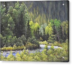 Nw Branch Old Man River Acrylic Print