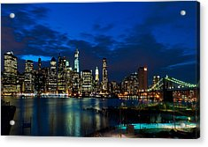 Ny Skyline From Brooklyn Heights Promenade Acrylic Print