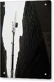 Nyc Constraction Acrylic Print