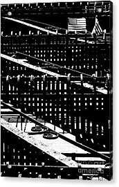 Acrylic Print featuring the photograph Nyc Fire Escape by Robert Riordan