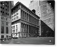 Nyc National City Bank Acrylic Print by Granger