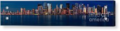 Acrylic Print featuring the photograph Nyc Pano by Jerry Fornarotto
