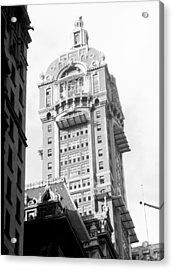 Nyc, Singer Building, 1967 Acrylic Print by Science Source