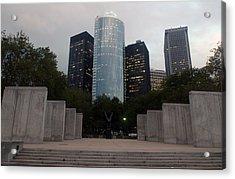 Nyc Vietnam Memorial Acrylic Print