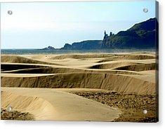 Nye Dunes Acrylic Print by Mamie Gunning
