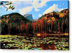 Nymph Lake Acrylic Print by Kathleen Struckle