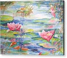 Nymphea Acrylic Print