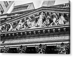 Nyse Acrylic Print by Jerry Fornarotto