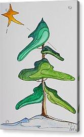 O Christmas Tree Acrylic Print by Pat Purdy
