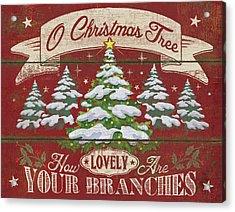 O Christmas Tree Acrylic Print