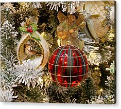 Acrylic Print featuring the photograph O Christmas Tree by Victoria Harrington