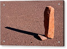 O G Is A Stone 2013 Acrylic Print by James Warren