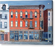 O Sunghai Restaurant West Village Acrylic Print by Anthony Butera