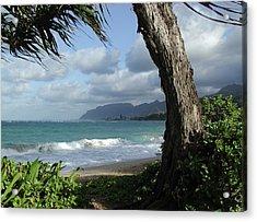 Oahu Coastline Acrylic Print