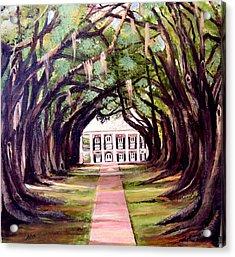 Oak Alley Plantation Acrylic Print