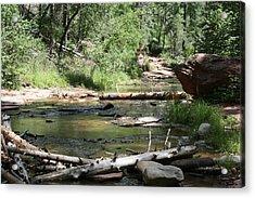 Oak Creek Canyon 5 Acrylic Print by Grant Washburn