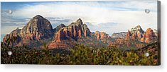 Oak Creek Canyon Sedona Pan Acrylic Print