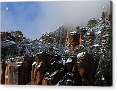 Acrylic Print featuring the photograph Oak Creek Vista Wc 9375 by Tom Kelly