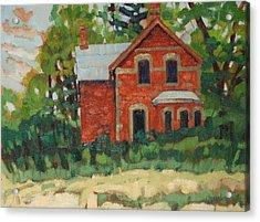 Oak Ridges Homestead Acrylic Print by Phil Chadwick