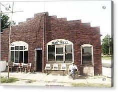 Oakhill Kansas Downtown Acrylic Print