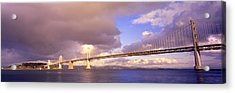 Oakland Bay Bridge San Francisco Acrylic Print by Panoramic Images
