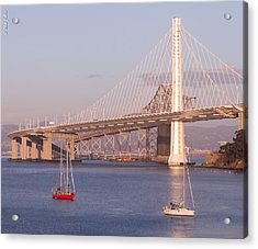Oakland Bridge Acrylic Print