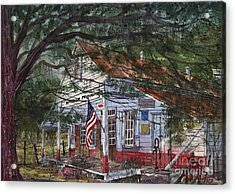 Oakland Plantation Store Acrylic Print by Tim Oliver